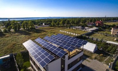 Photo Rooftop solar power plants for private use