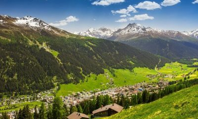 Photo Davos and Ecological Innovations in Agriculture