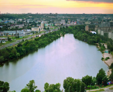 Photo The dirtiest ponds in Kyiv