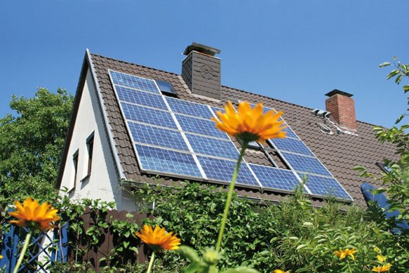Photo Solar power for summer cottages